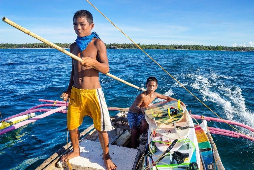 Siargao Island Boat
