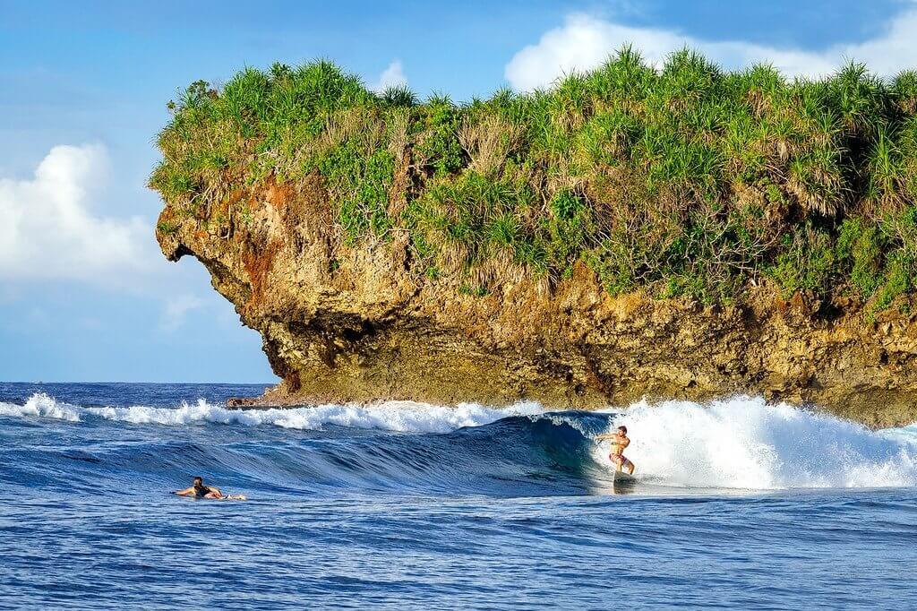 Siargao Island Surfing