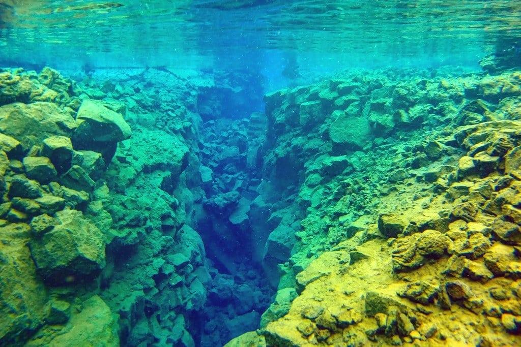 Underwater Silfra Iceland