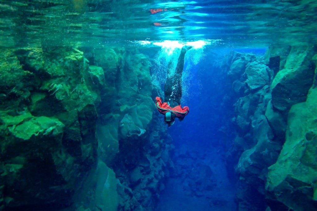 Diving Silfra Iceland
