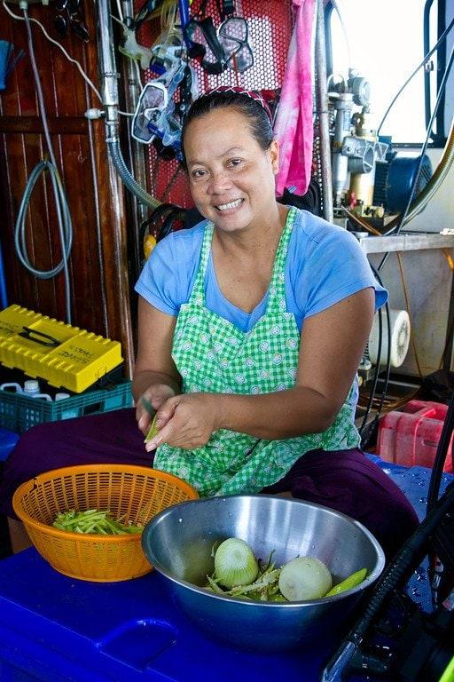 Boat Kitchen Thailand