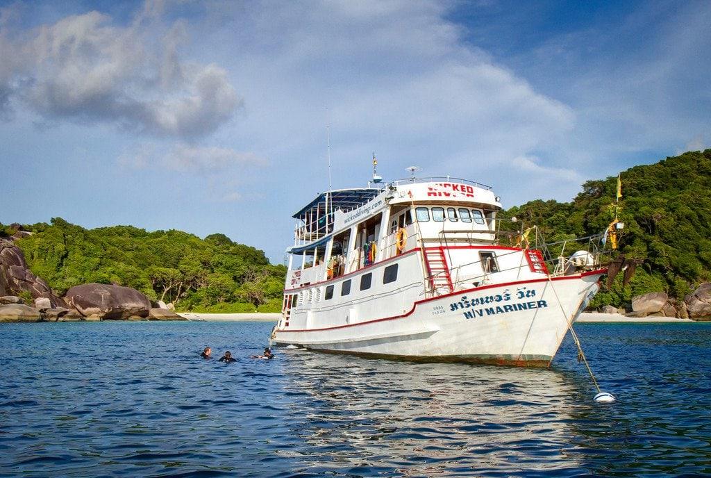 Diving Similan Islands Thailand
