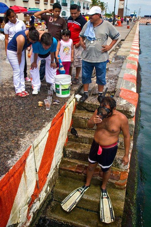 Skin Diver Veracruz Mexico