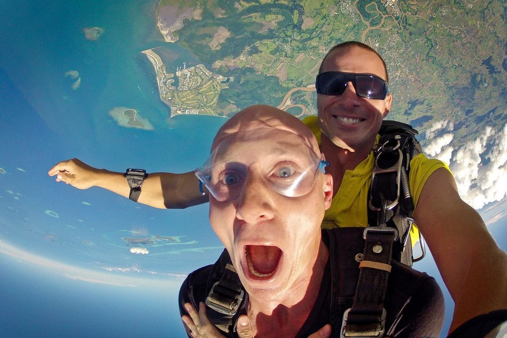 Skydiving Fiji