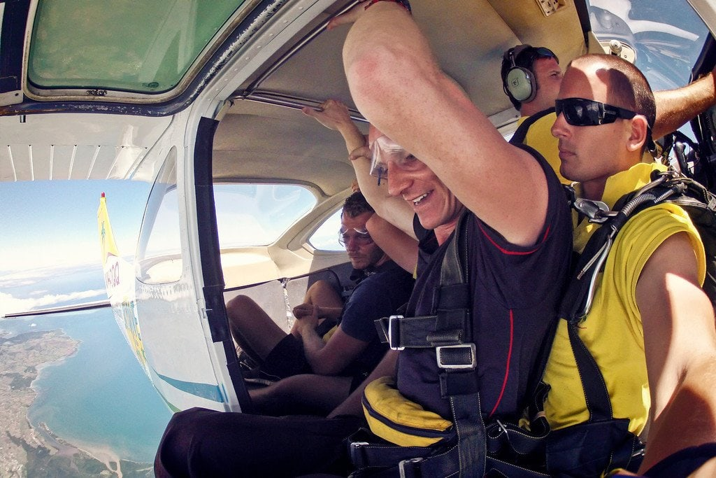 Skydiving Fiji