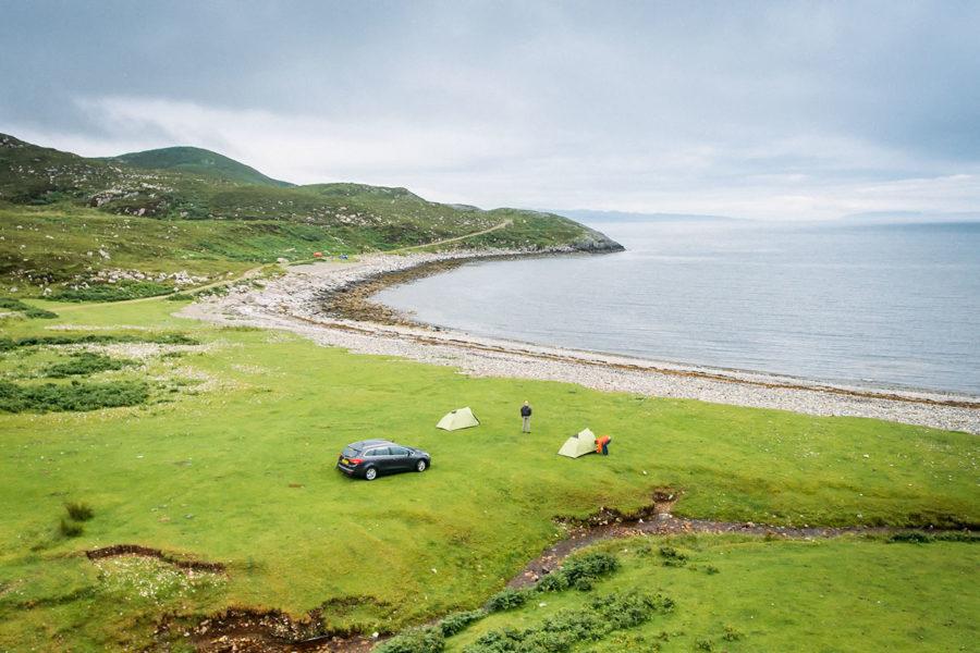Isle of Skye Camping