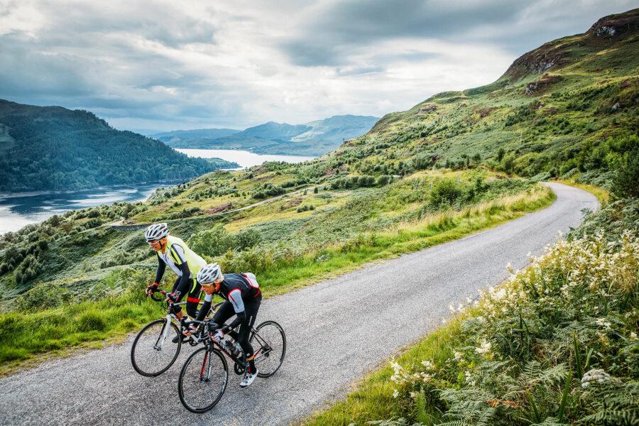 Bicycles on Isle Of Skye