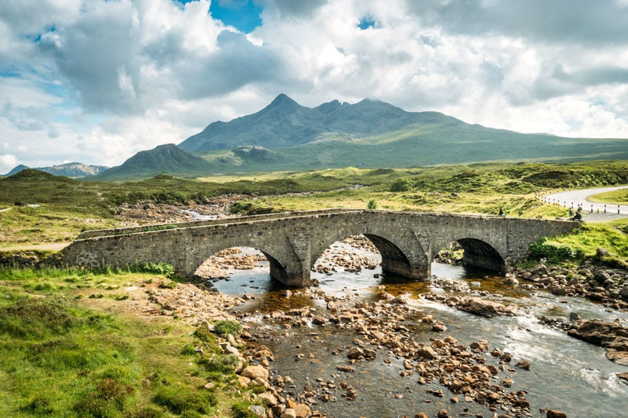Stone Bridge on the Isle of Skye