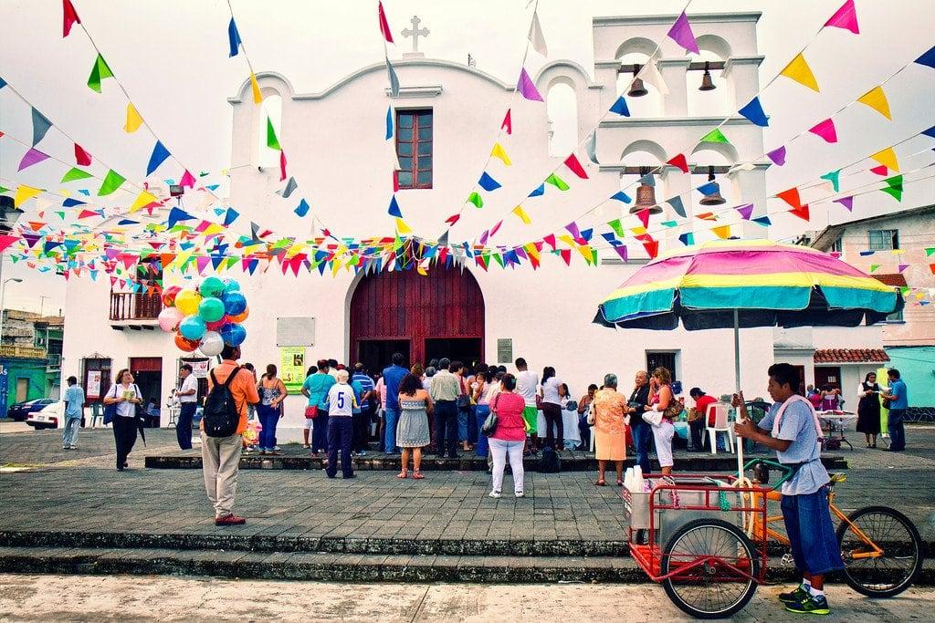 Small Church Veracruz Mexico