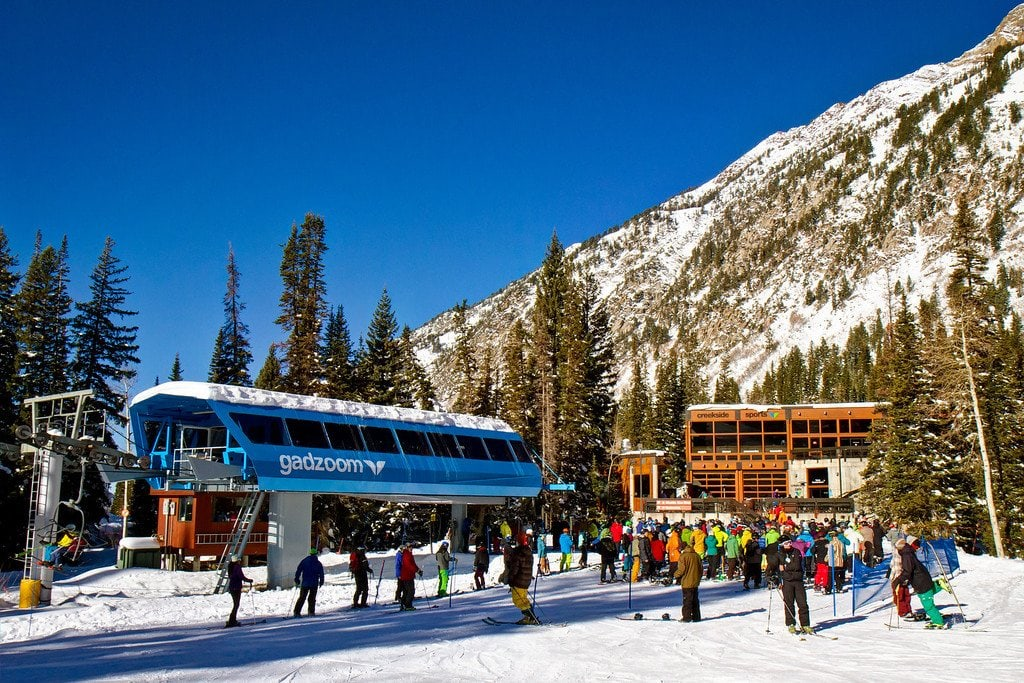 Opening Day Snowbird Utah