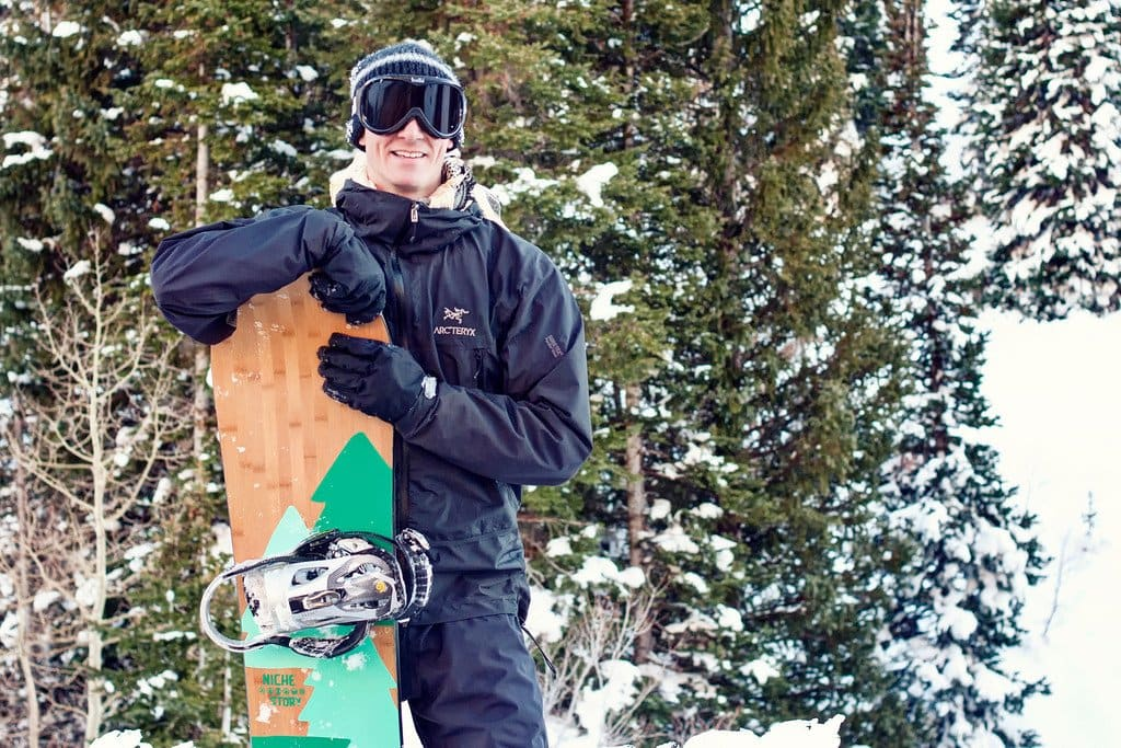 Matthew Karsten Snowboarding Snowbird Utah