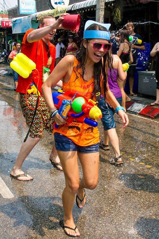 Songkran Water Festival Chiang Mai