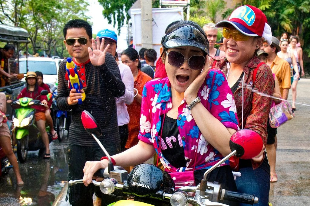 Songkran Thai New Year Chiang Mai