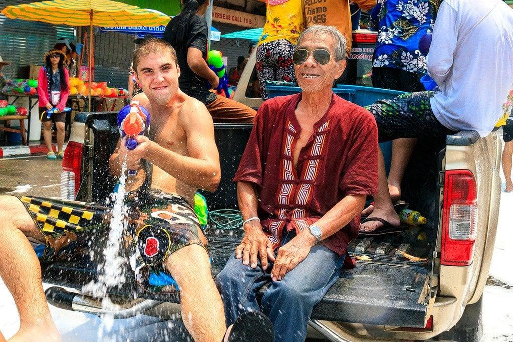Songkran New Year Chiang Mai Thailand