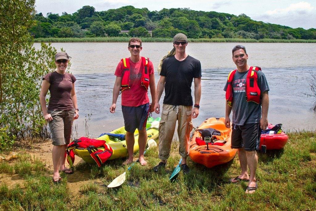Kayak Tour iSimangaliso South Africa