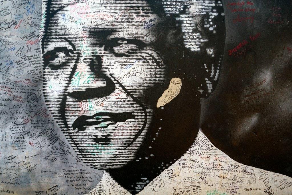Mandela Mural Soweto