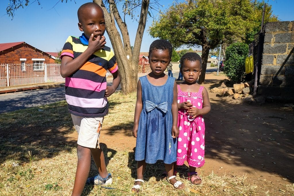 Kids Play in Soweto