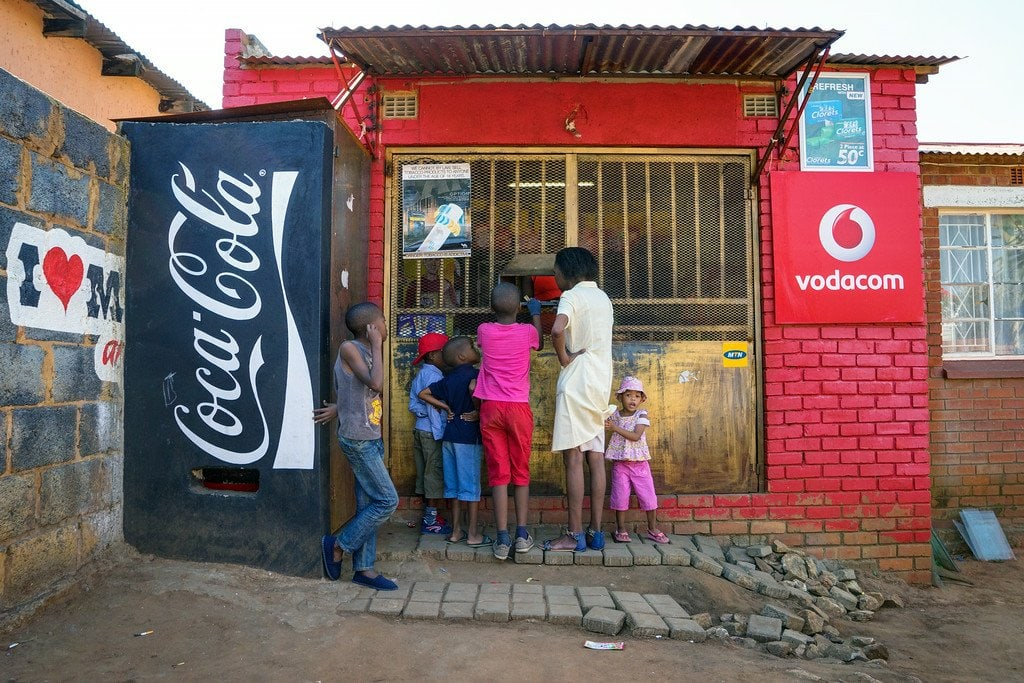 Small Shop in Soweto