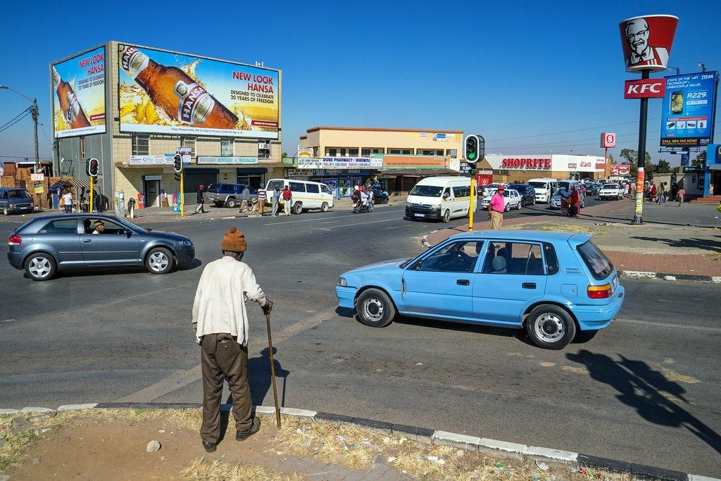 Streets of Soweto Township