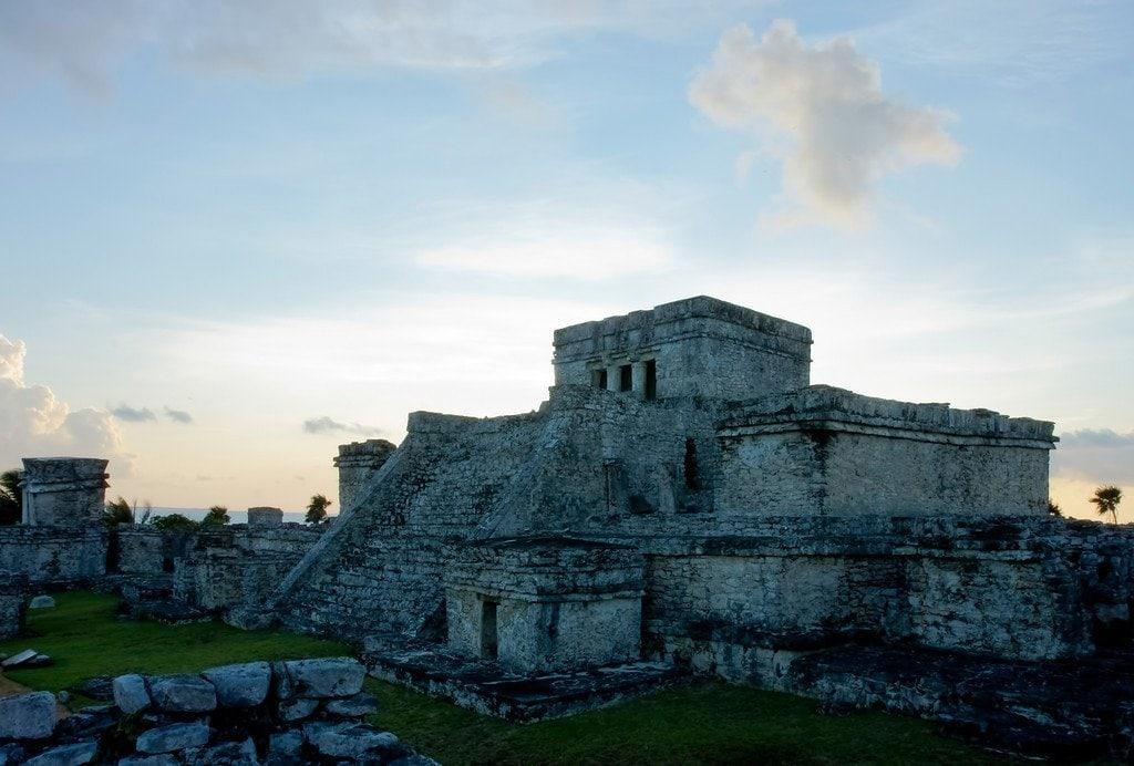 Tulum Pyramid Castle
