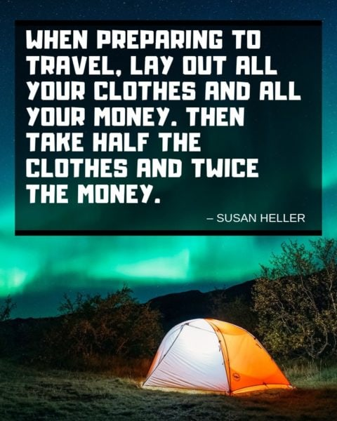 Susan Heller Quote about Traveling