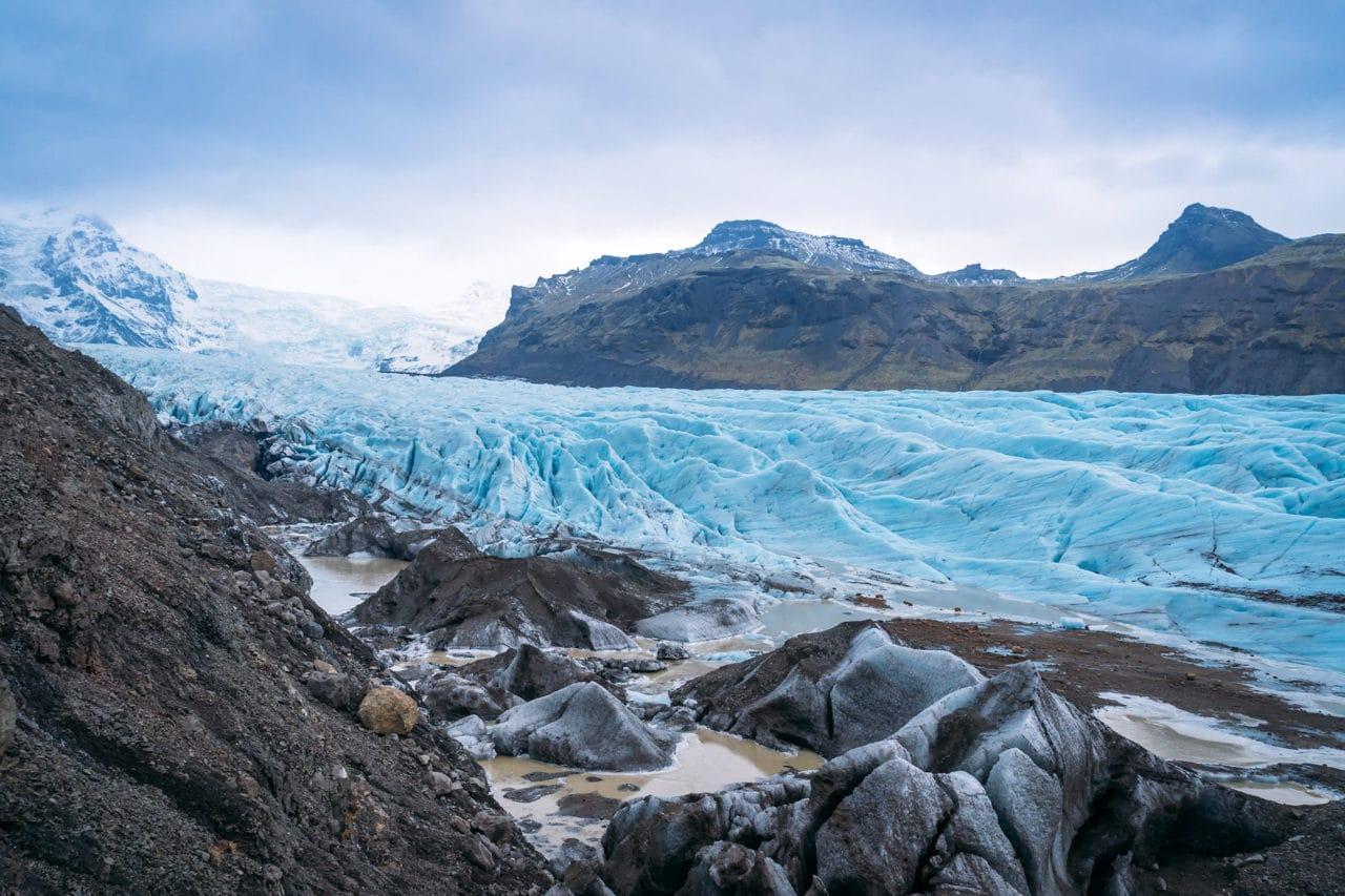 Iceland Glacier Photos