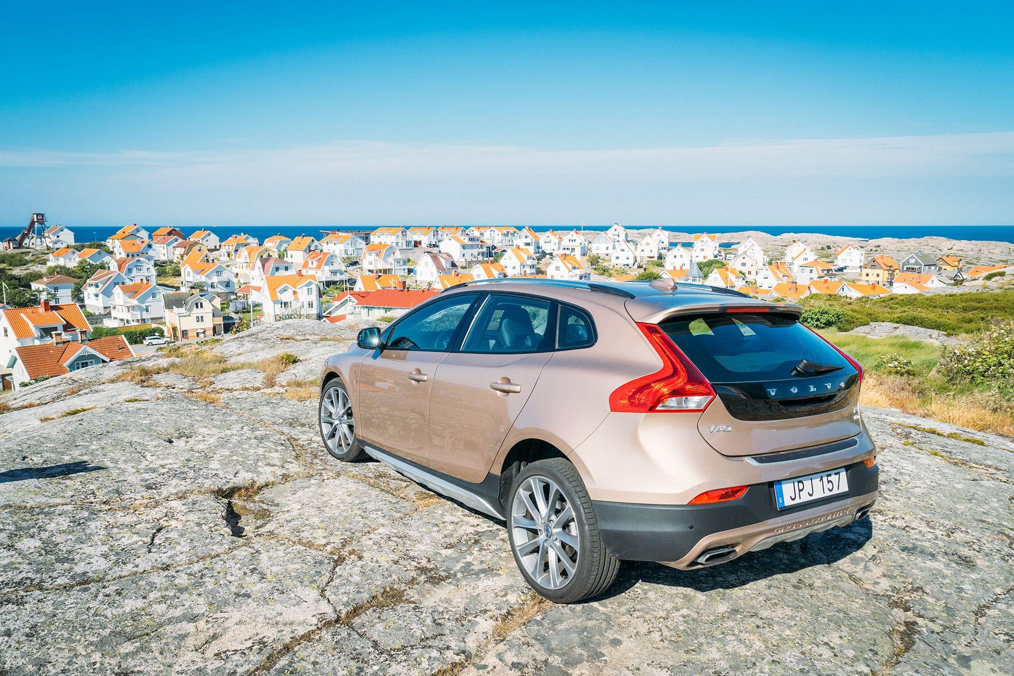 Alquilar un coche en Suecia