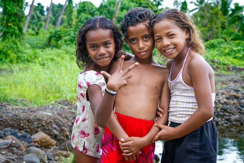 Local Kids Fiji