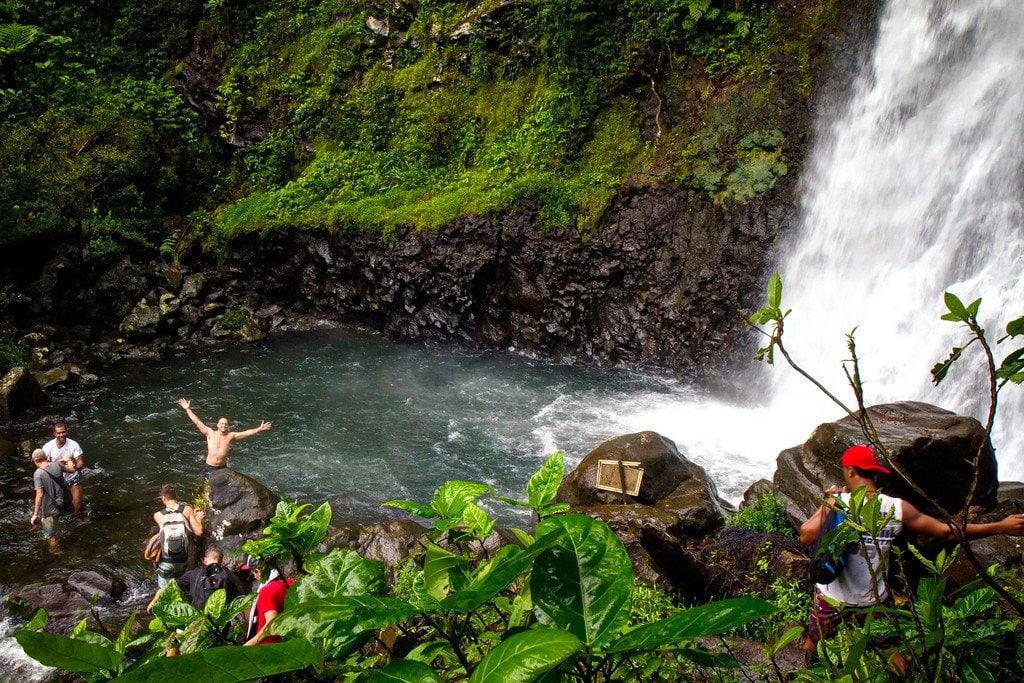 Tavueni Waterfalls Fiji
