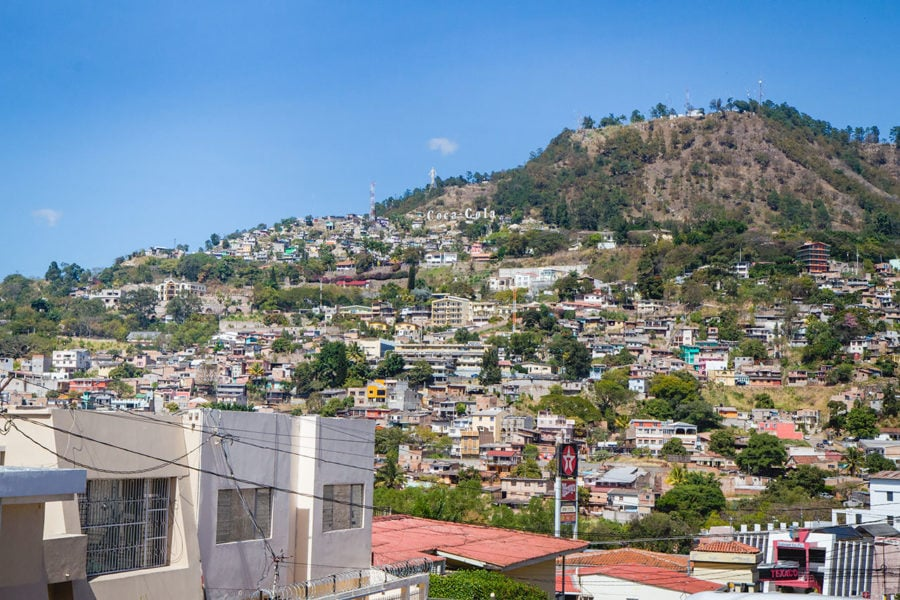 Welcome to Tegucigalpa, Honduras
