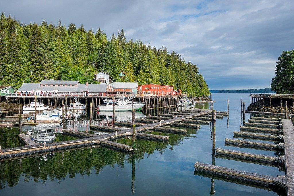 Telegraph Cove Vancouver Island