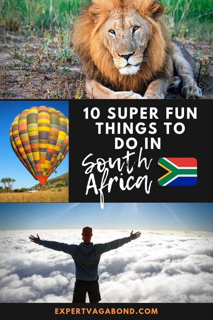 10 Super Fun Things To Do In South Africa. More at ExpertVagabond.com