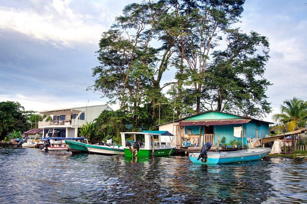 Tortuguero Town Costa Rica