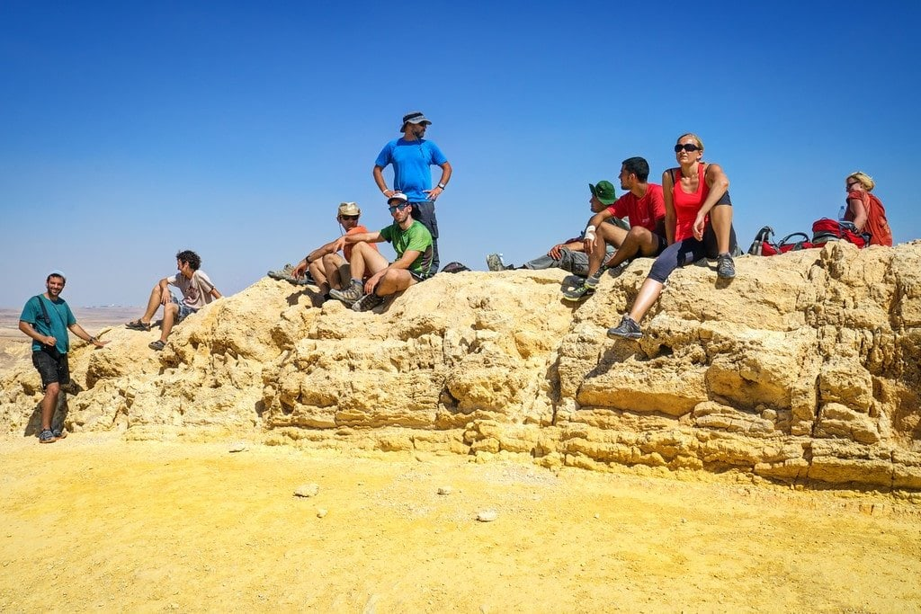 Israel National Trail Hike