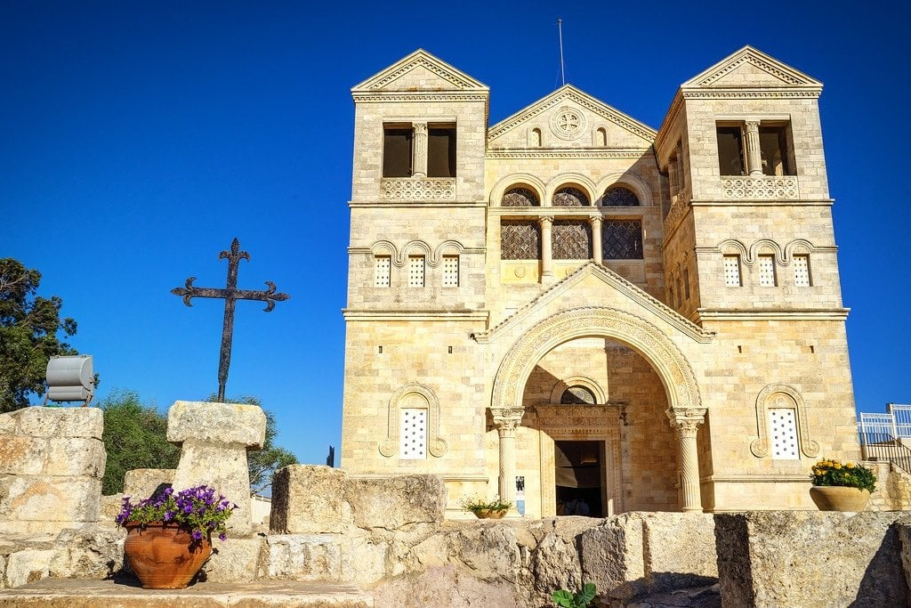 Church of Transfiguration Israel