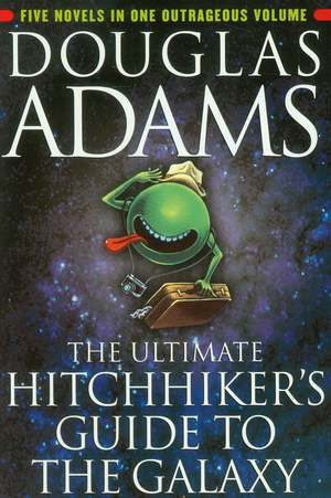 Best Travel Books: Hitchhiker's Guide To The Galaxy