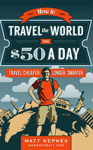 Best Travel Books: How To Travel The World On $  50 A Day
