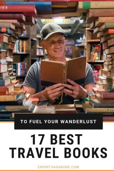 Check out this list of the best travel books to read for inspiration and become a better traveler.