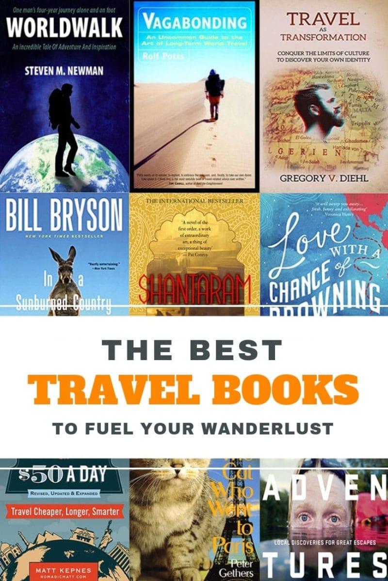 17 Best Travel Books To Fuel Your Wanderlust • Expert Vagabond