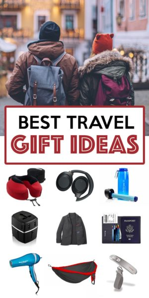Best Travel Gift Ideas for the traveling in your life. Find a great present this holiday season! More at ExpertVagabond.com