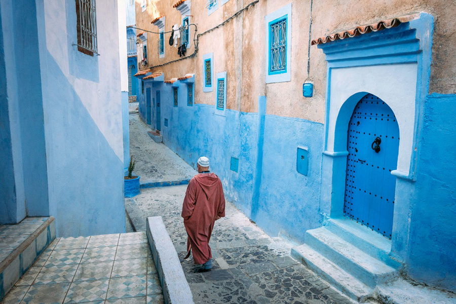 Lost in the Streets of Chefchaouen