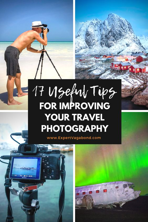 Travel Photography Tips to improve your photos. Secrets from the pros! More at ExpertVagabond.com
