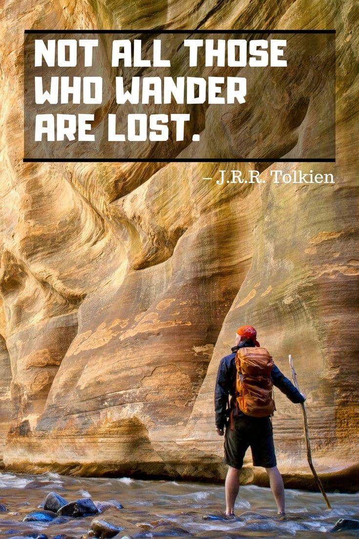 Best Travel Quotes from J.R.R. Tolkien