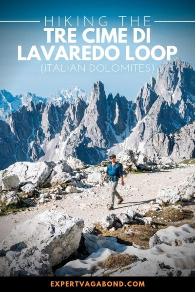 Tips for hiking one of Italy's most beautiful loop trails, Tre Cime in the Dolomites!