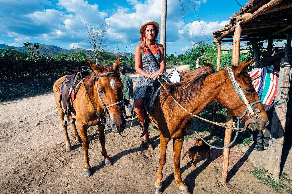Trinidad Cuba Horseback Riding