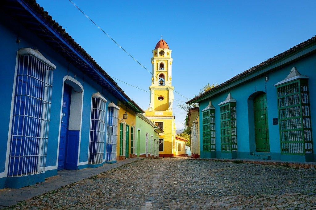 Trinidad Church Tower Cuba