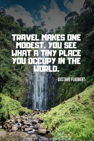 Travel Quote 9: By Gustave Flaubert
