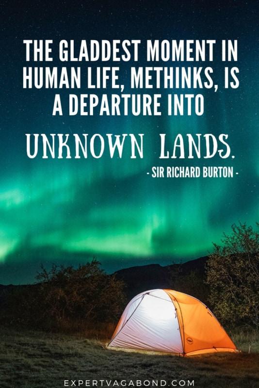 Travel Quote 6: Richard Burton Inspiration