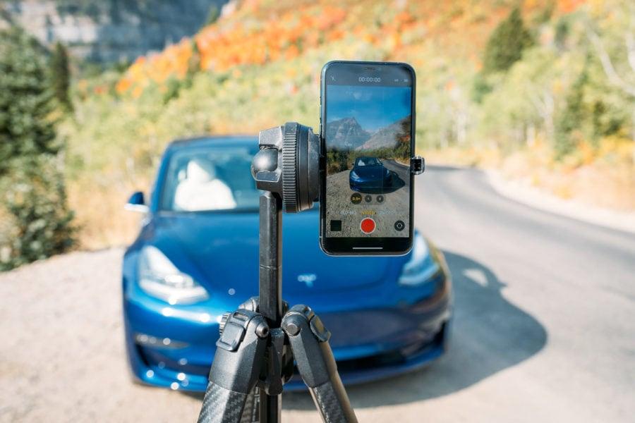 Tripod Smartphone Mount