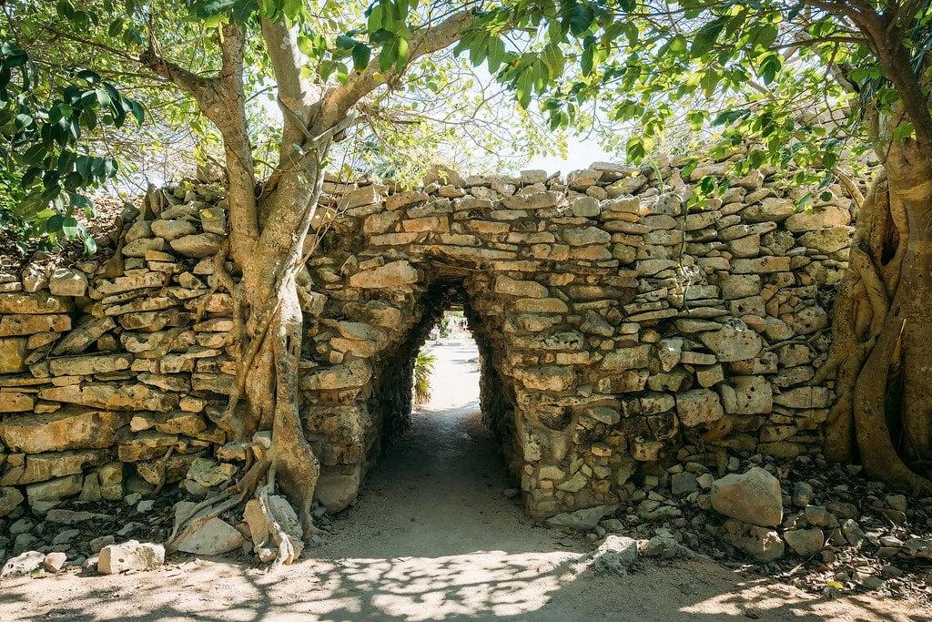 Tulum Ruins Mexico Entrance